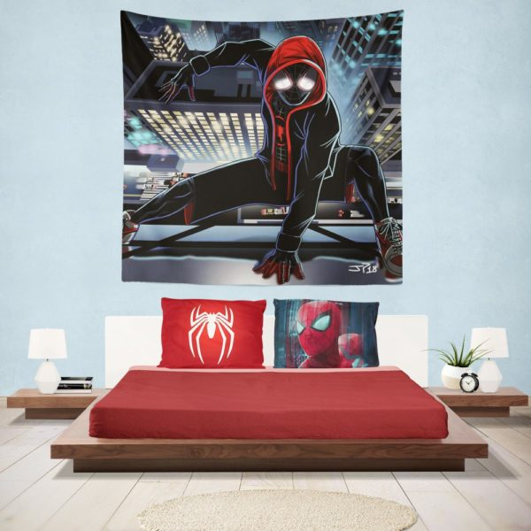 The Superior Spider-Man Future Foundation Hanging Wall Tapestry