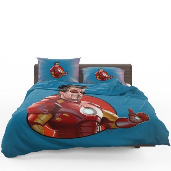 Tony Stark Iron Man Comforter Set 1