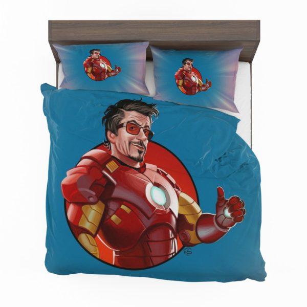 Tony Stark Iron Man Comforter Set 2