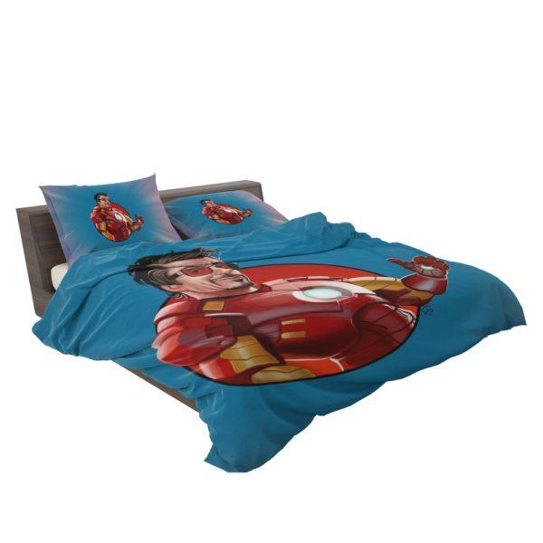 Tony Stark Iron Man Comforter Set 3