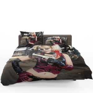Women Cosplay Harley Quinn Bedding Set 1