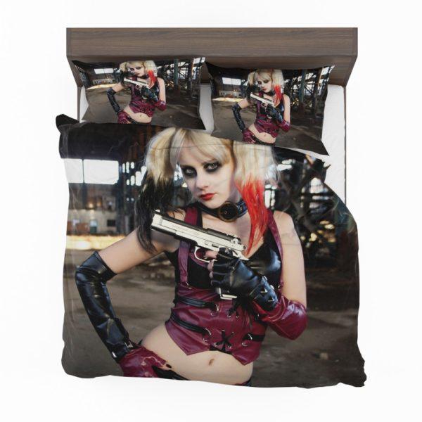 Women Cosplay Harley Quinn Bedding Set 2