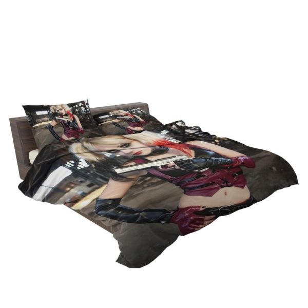 Women Cosplay Harley Quinn Bedding Set 3
