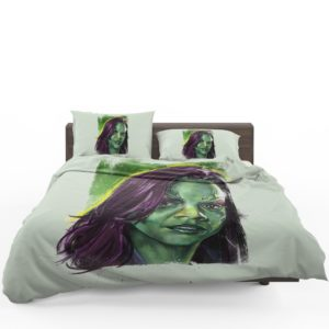 Zoe Saldana Gamora Bedding Set 1