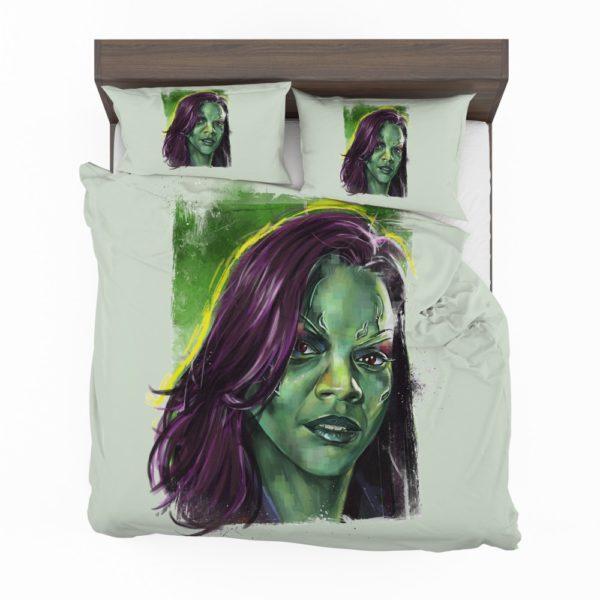 Zoe Saldana Gamora Bedding Set 2