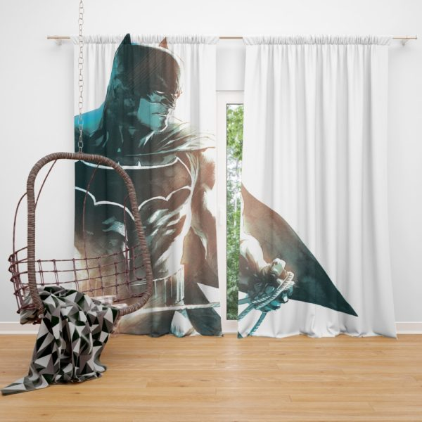 All Star Batman Justice League Art Curtain