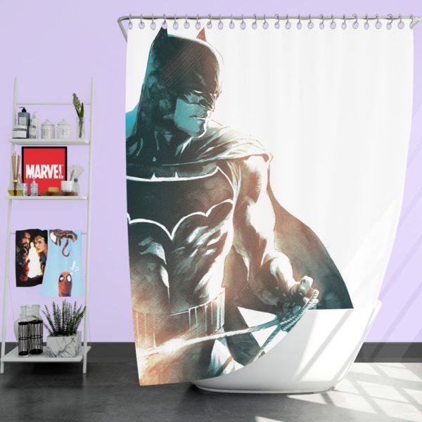 All Star Batman Justice League Art Shower Curtain