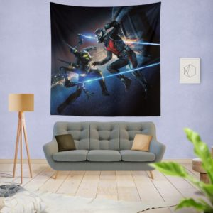 Ant-Man Ant-Man Yellowjacket Fighting Scene Wall Hanging Tapestry