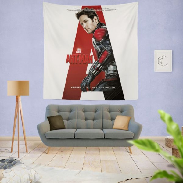 Ant-Man Marvel Movie Paul Rudd Wall Hanging Tapestry