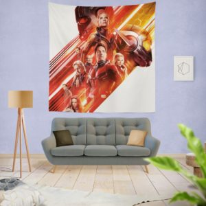 Ant-Man and the Wasp Marvel Movie Characters Wall Hanging Tapestry