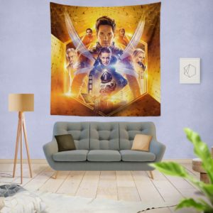 Ant-Man and the Wasp Marvel Movie Themed Wall Hanging Tapestry