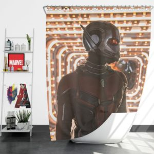 Ant-Man and the Wasp Marvel Super Hero Paul Rudd Shower Curtain