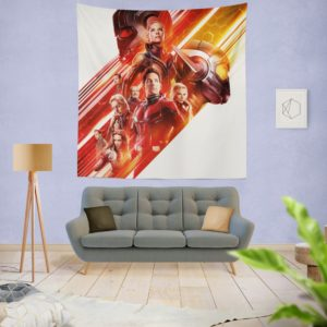 Ant-Man and the Wasp Movie Themed Teen Wall Hanging Tapestry