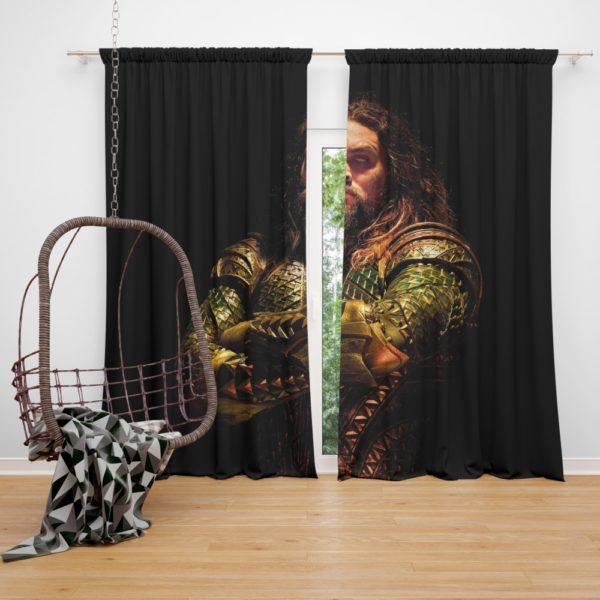 Aquaman DC Comics Movie Curtain