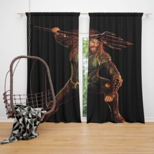 Aquaman Jason Momoa Curtain
