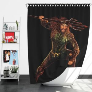 Aquaman Jason Momoa Shower Curtain
