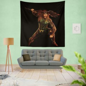 Aquaman Jason Momoa Wall Hanging Tapestry