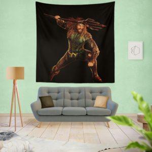 Aquaman Jason Momoa Wall Hanging Tapestry
