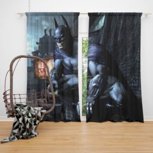Arkham City Video Game Batman Curtain