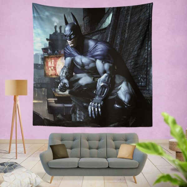 Arkham City Video Game Batman Wall Hanging Tapestry