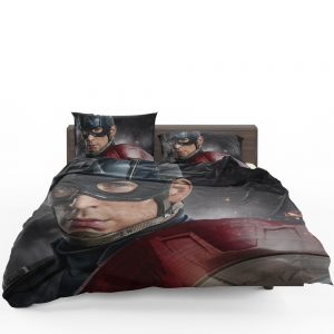 Avenger Captain America Civil War Movie Bedding Set 1
