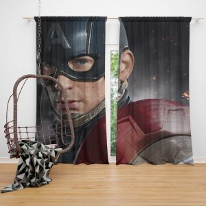 Avenger Captain America Civil War Movie Curtain