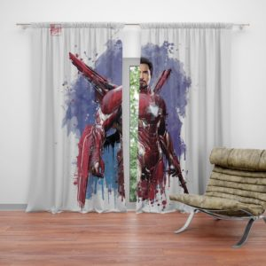 Avengers Infinity War Robert Downey Jr. Iron Man Marvel Comics Curtain