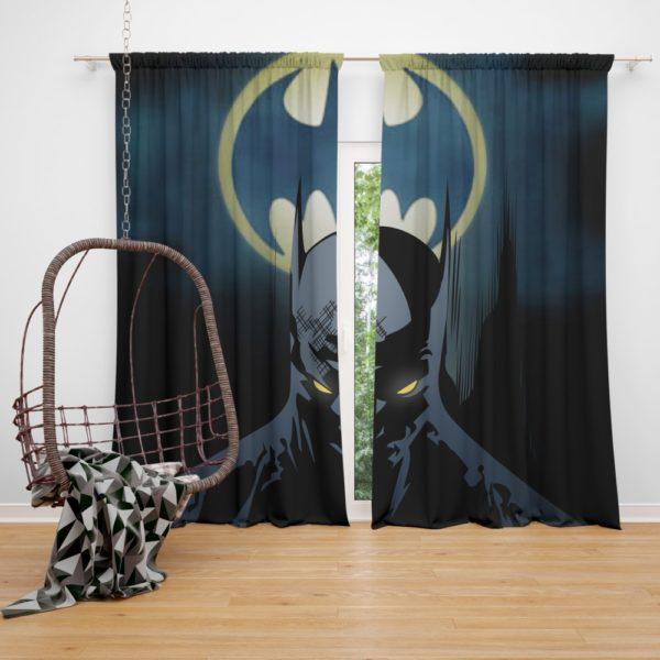 Bat-Signal Batman Comics Curtain