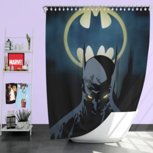 Bat-Signal Batman Comics Shower Curtain