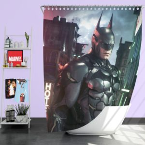 Batman Arkham Games Merchandise Shower Curtain