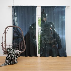 Batman Arkham Night Video Game Curtain