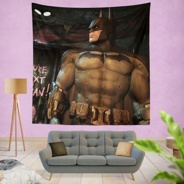 Batman Return to Arkham Game Wall Hanging Tapestry