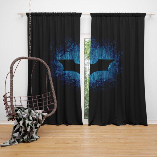 Batman Symbol Curtain