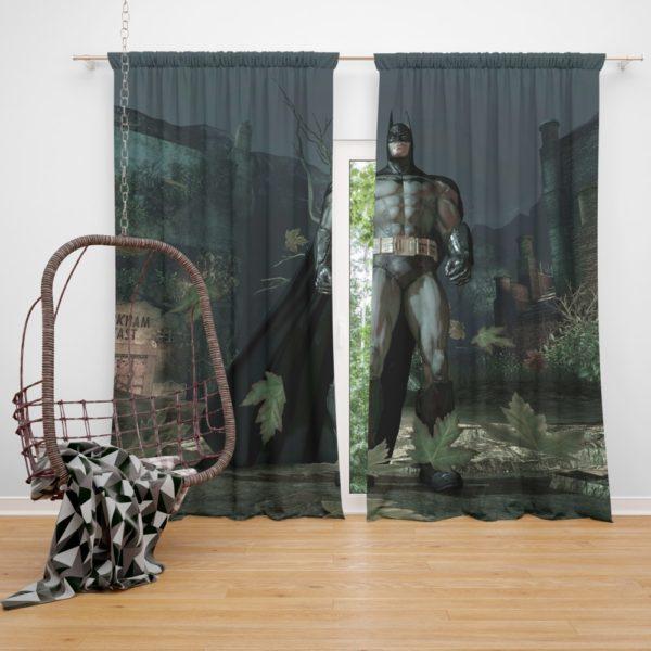 Batman Video Game Arkham Asylum Curtain