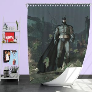 Batman Video Game Arkham Asylum Shower Curtain