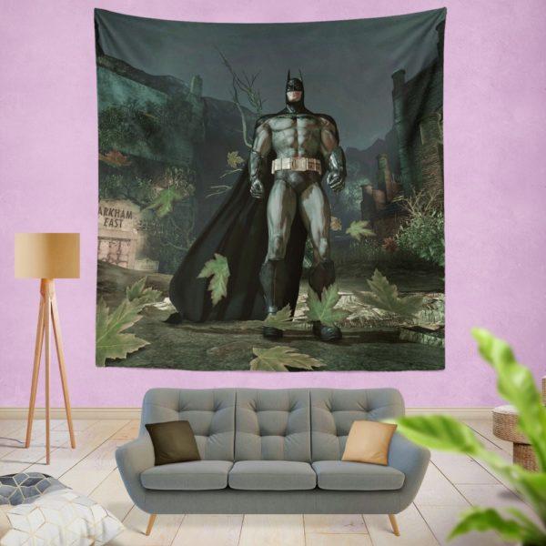 Batman Video Game Arkham Asylum Wall Hanging Tapestry