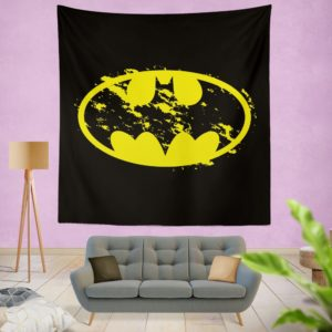 Batman Yellow DC Symbol Wall Hanging Tapestry