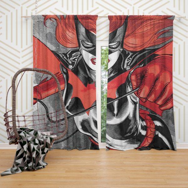 Batwoman Adventures Detective Comics Curtain