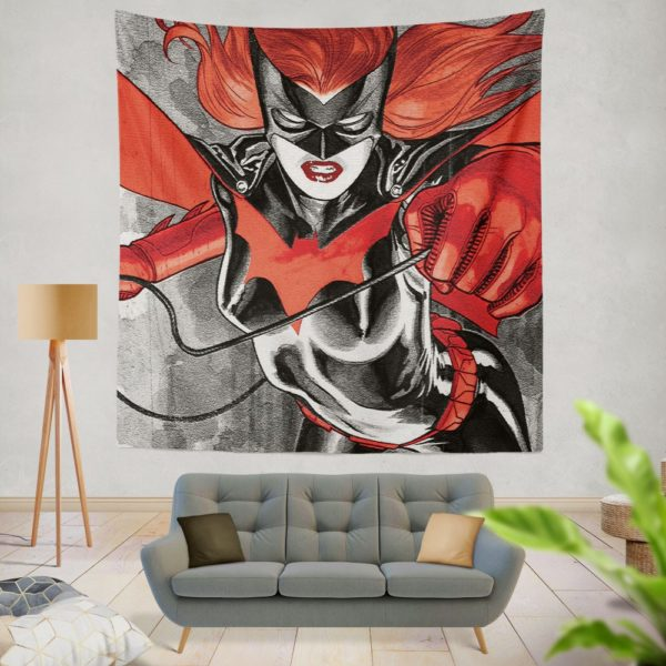 Batwoman Adventures Detective Comics Wall Hanging Tapestry