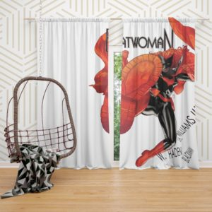 Batwoman DC Comics Curtain