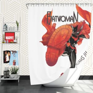 Batwoman DC Comics Shower Curtain