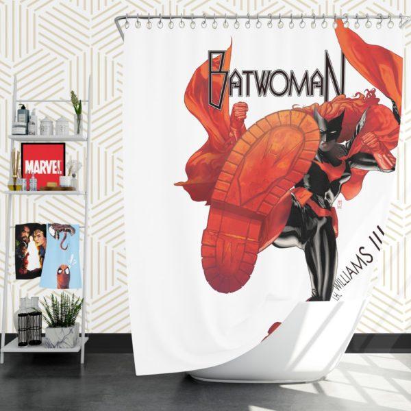 Batwoman DC Comics Shower Curtain