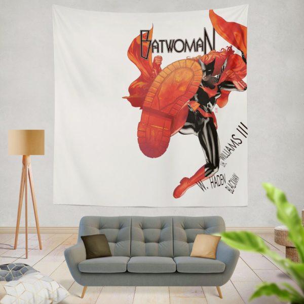 Batwoman DC Comics Wall Hanging Tapestry