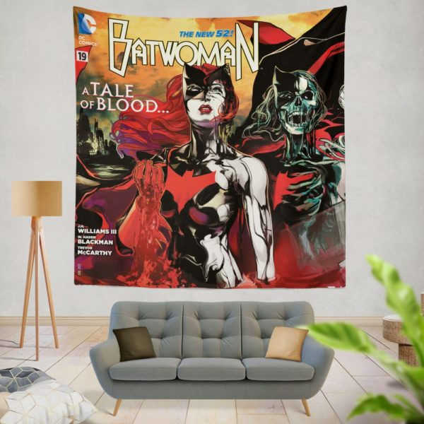 Batwoman TV series This Blood is Thick Wall Hanging Tapestry