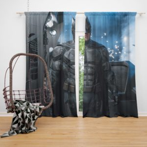 Ben Affleck Batman Bruce Wayne Justice League Curtain