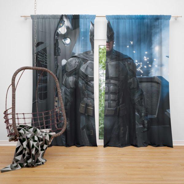 Ben Affleck Batman Bruce Wayne Justice League Curtain
