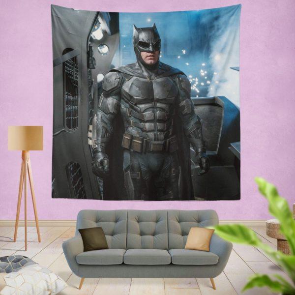 Ben Affleck Batman Bruce Wayne Justice League Wall Hanging Tapestry