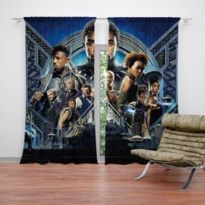 Black Panther Movie 2018 Marvel Curtain