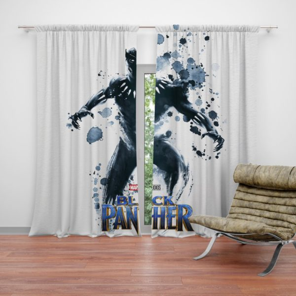 Black Panther The Noble Avenger Curtain
