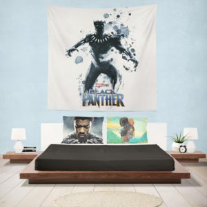 Black Panther The Noble Avenger Wall Hanging Tapestry